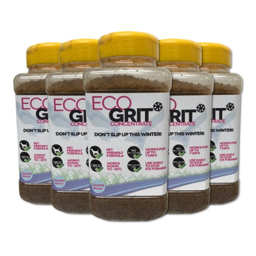 ECOGrit Concentrate hand held ice melt spreader