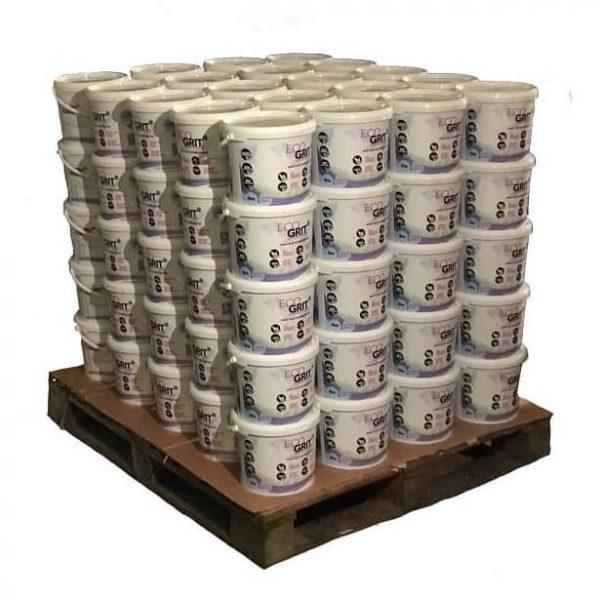 bulk buy Ecogrit pallet of ice melt buckets (100)